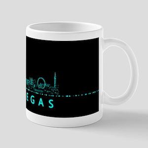 Digital Cityscape: Las Vegas, Nevada Mug