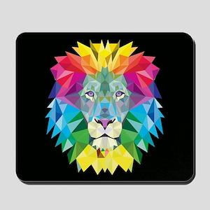 Rainbow Lion Mousepad