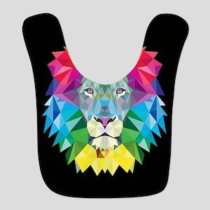 Rainbow Lion Bib