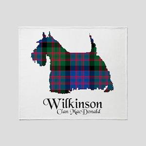 Terrier-Wilkinson.MacDonald Throw Blanket