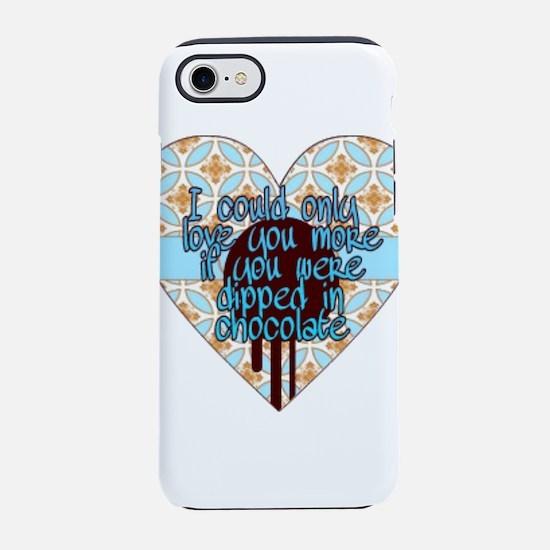 Love you more iPhone 8/7 Tough Case