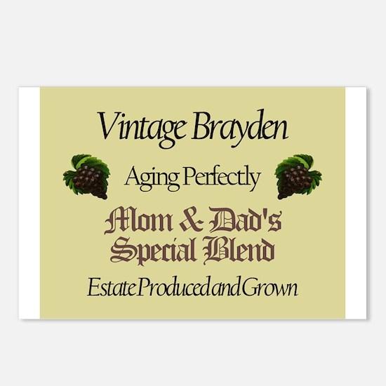 Vintage Brayden Postcards (Package of 8)
