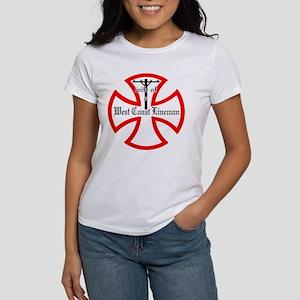 west coast lineman red T-Shirt