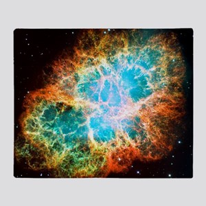 Crab Nebula Throw Blanket