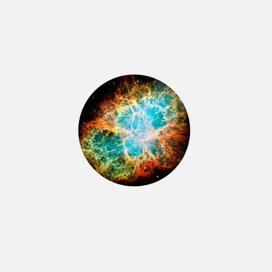 Crab Nebula Mini Button