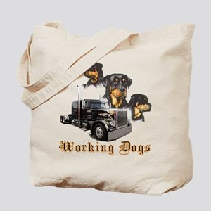 Working Dogs Tote Bag