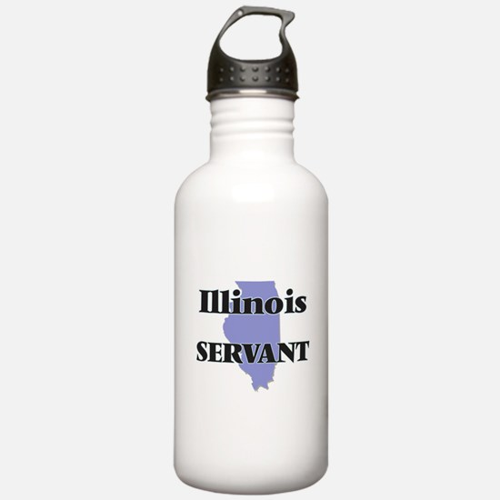 Illinois Servant Water Bottle