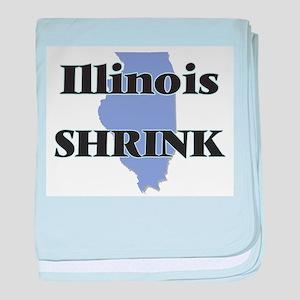 Illinois Shrink baby blanket