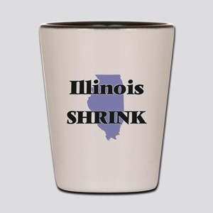 Illinois Shrink Shot Glass