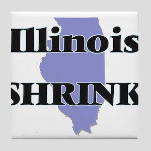 Illinois Shrink Tile Coaster