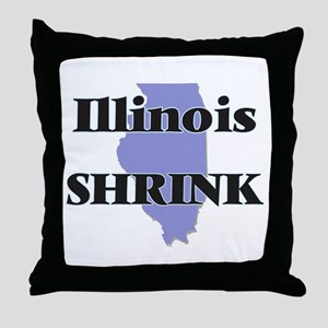Illinois Shrink Throw Pillow