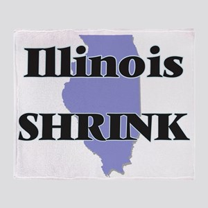 Illinois Shrink Throw Blanket