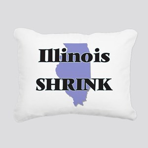 Illinois Shrink Rectangular Canvas Pillow