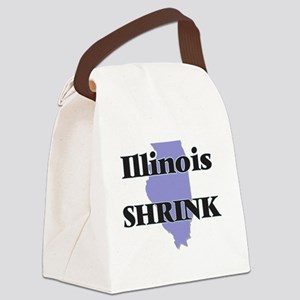 Illinois Shrink Canvas Lunch Bag