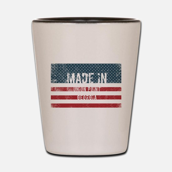Made in Union Point, Georgia Shot Glass