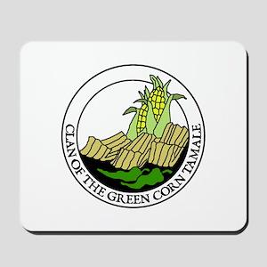 Clan of the Green Corn Tamale Mousepad