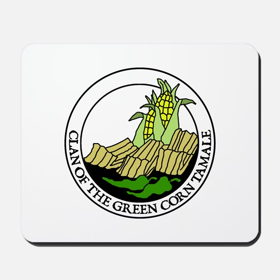 Clan of the Green Corn Tamale Mousepad