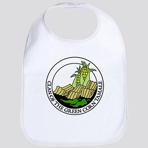 Clan of the Green Corn Tamale Bib