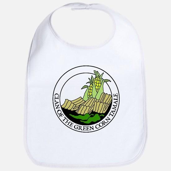 Clan of the Green Corn Tamale Bib