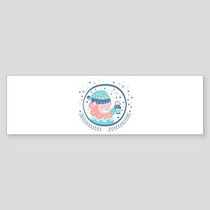 Gnome Fairy Tale Character Bumper Sticker