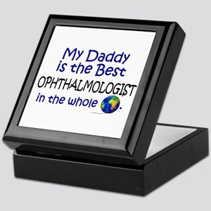 Best Ophthalmologist In The World (Daddy) Tile Box