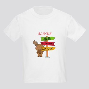Alaska Moose What Way To The North P T-Shirt