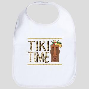 TikiTimePlain2 Baby Bib