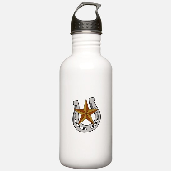 HORSE SHOE AND STAR Water Bottle