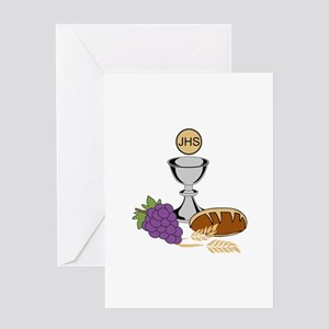 COMMUNION Greeting Cards