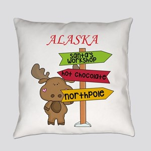Alaska Moose What Way To The North Everyday Pillow