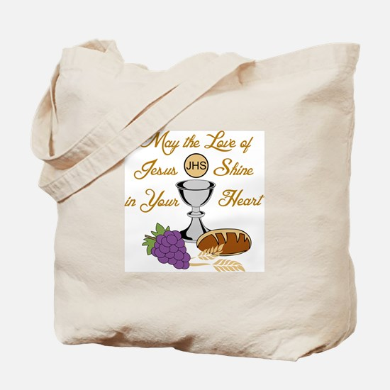 THE LOVE OF JESUS Tote Bag