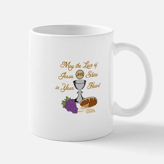 THE LOVE OF JESUS Mugs