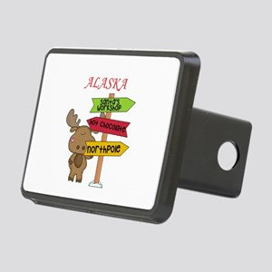Alaska Moose What Way To T Rectangular Hitch Cover