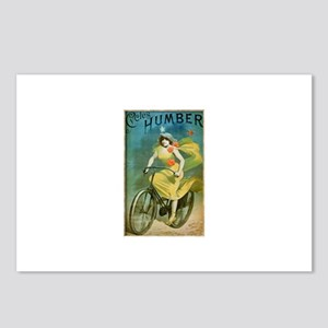 Alfred Choubrac Humber Cycles Postcards (Package o