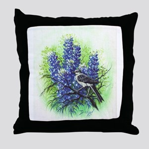 Mockingbird Throw Pillow