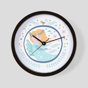 Magic Fairy Fairy Tale Character Wall Clock