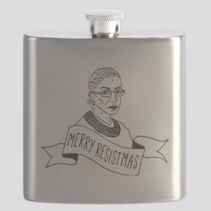Merry Resistmas - Holiday for Feminists - Ru Flask