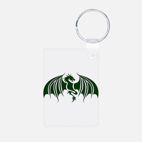 green dragon Keychains