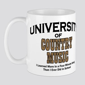 U of Country Music Mug