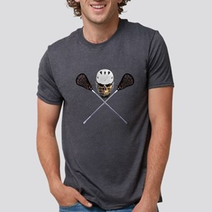 Lacrosse Pirate Skull T-Shirt
