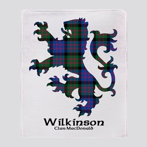 Lion-Wilkinson.MacDonald Throw Blanket