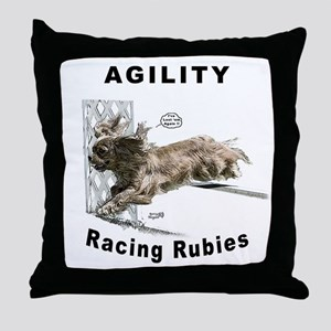 Cavalier/Ruby Agility Throw Pillow