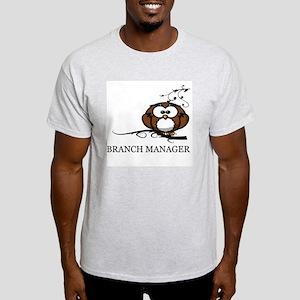 BRANCH MANAGER - OWL Light T-Shirt
