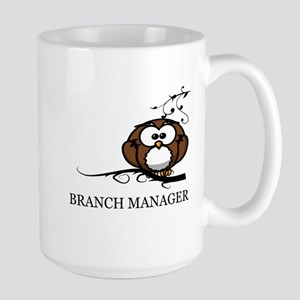 BRANCH MANAGER - OWL Large Mug