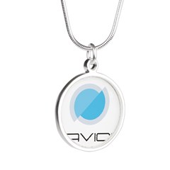 Silver Round Necklace