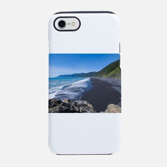 Black Sand Beach, Shelter Co iPhone 8/7 Tough Case