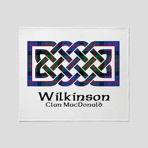 Knot-Wilkinson.MacDonald Throw Blanket