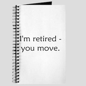 I'm Retired Journal