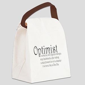 optimist Canvas Lunch Bag