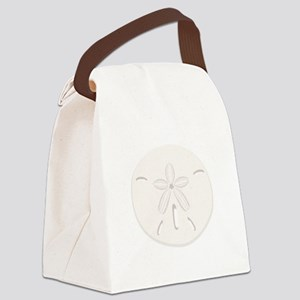 Sand Dollar Canvas Lunch Bag